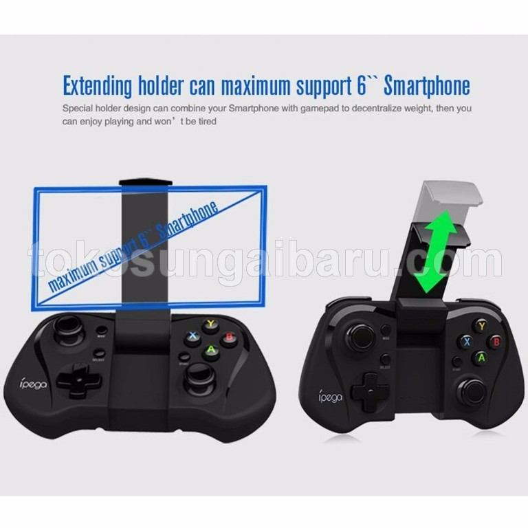 Ipega Wireless Bluetooth Game Controller Gamepad with Nibiru Solution for Android - PG-9052 - Black