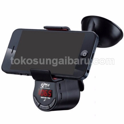 3 in 1 Bluetooth Handsfree FM Transmitter and Universal Smartphone Holder