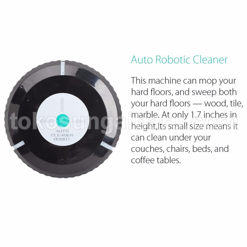 Auto Cleaner Robot Sweeping Cleaning Machine / Mesin Penyedot Debu      Auto Cleaner Robot Sweeping