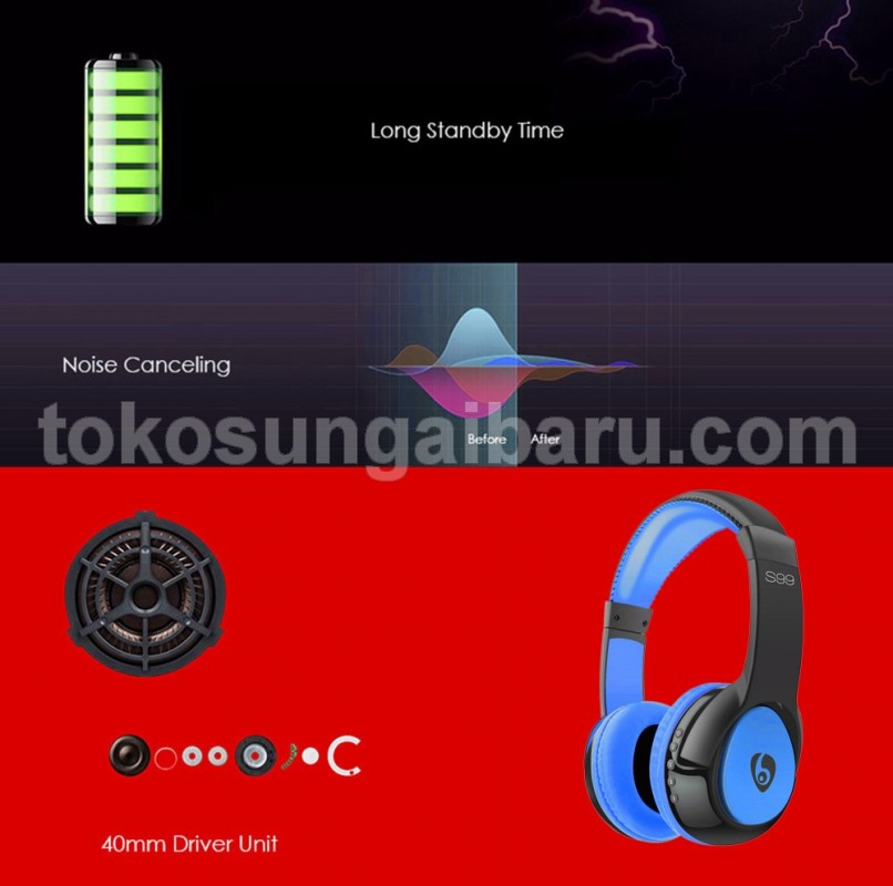 HEADSET BLUETOOTH OVLENG S99