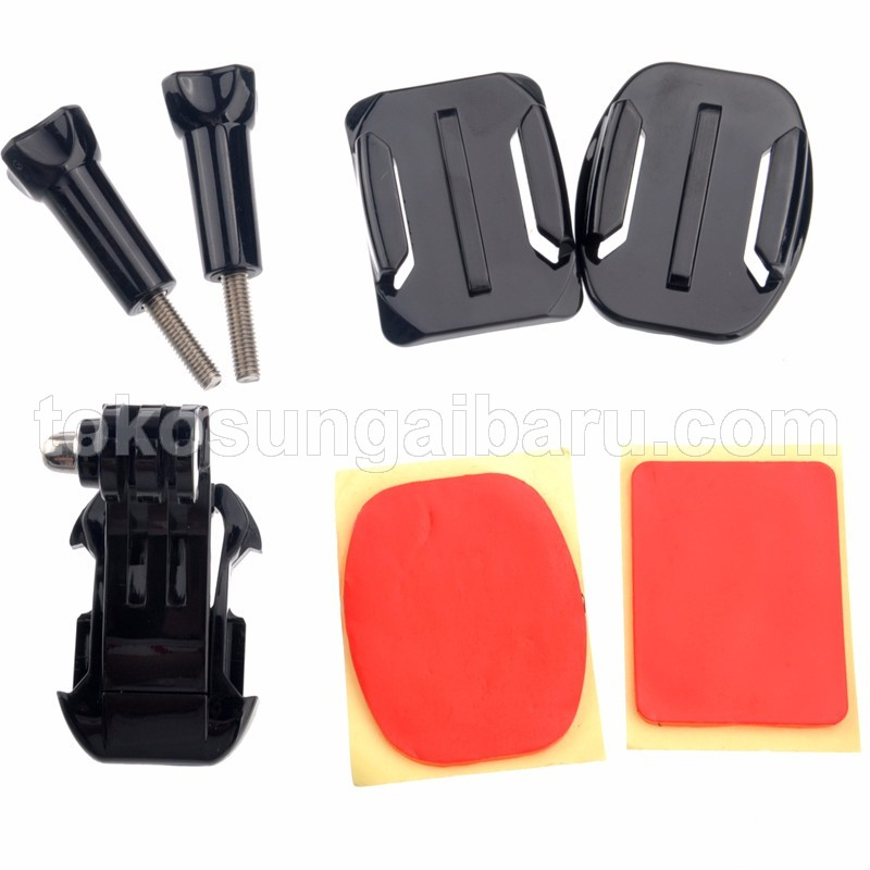 Helmet Front Mount for Xiaomi Yi / Xiaomi Yi 2 4K / GoPro Hero - GP19