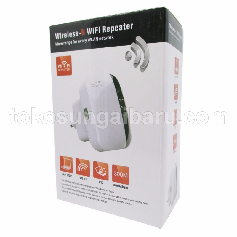 KexTech Wireless-N WiFi Repeater 300Mbps - WL0189