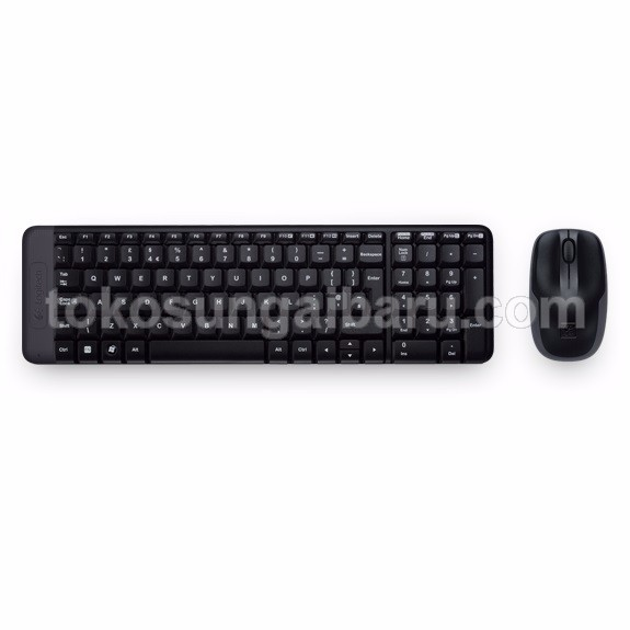 Logitech Keyboard with Mouse Wireless Combo - MK220