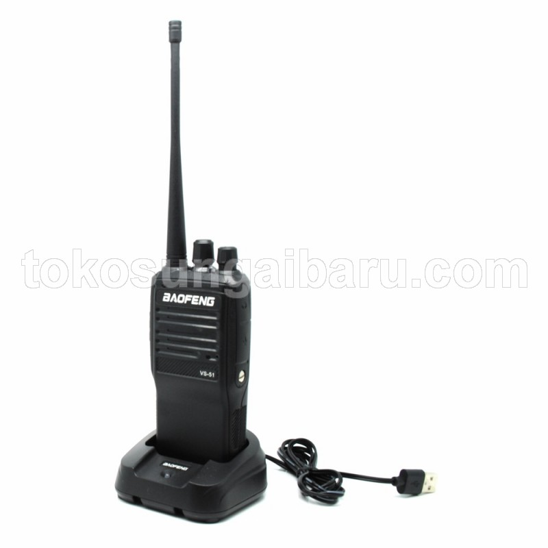 Taffware Walkie Talkie Single Band 5W 16CH UHF - VS-51