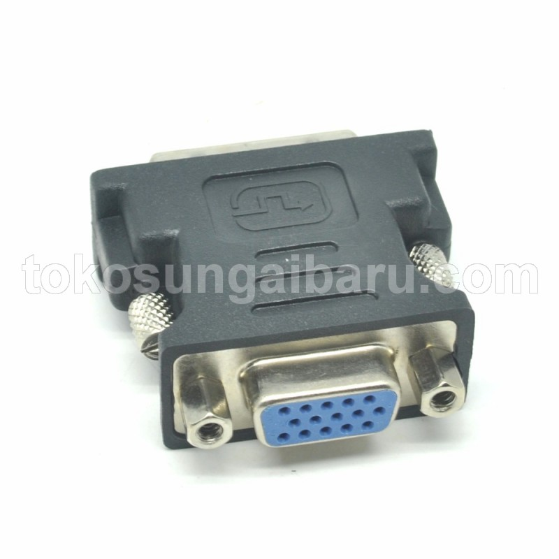 Adapter VGA Female ke DVI-I (Dual Link) Male