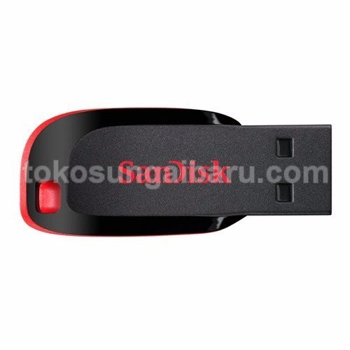 Sandisk Cruzer Blade USB Flashdisk 64GB - SDCZ50-064G (Bulk Packing)