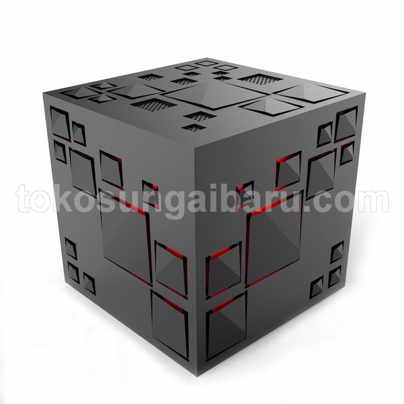 GoesTime Magic Cube Portable Bluetooth Speaker with Handsfree Function