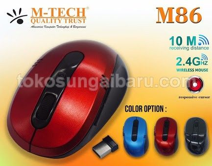 Mouse wireless M-Tech M86