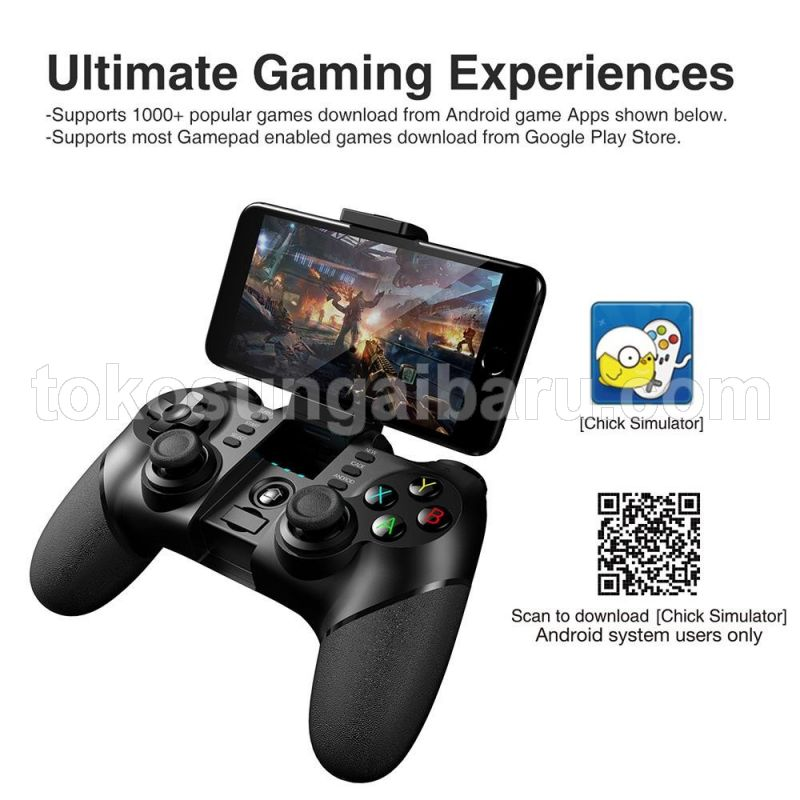 Ipega Bluetooth Gamepad with Turbo Function - PG-9077