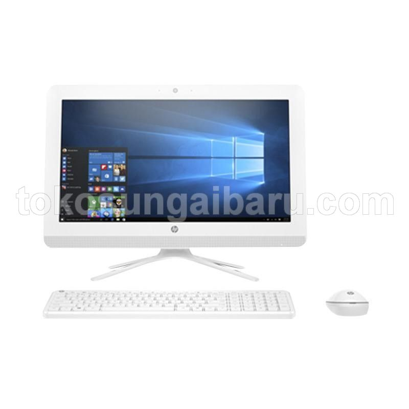 "HP AIO 20-C414D White DC J4005 Win 10 (19.45"" / UMA / 500GB / 4GB)"