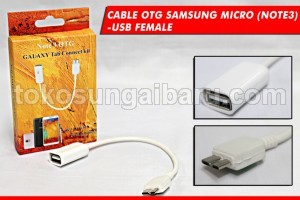 CABLE OTG SAMSUNG MICRO (NOTE3) USB FEMALE