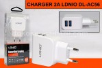 CHARGER 2A LDNIO DL-AC56 & KABEL MICRO USB