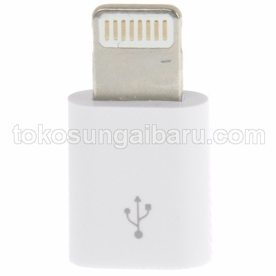 Micro USB Female to Lightning 8 Pin Adapter for iPhone