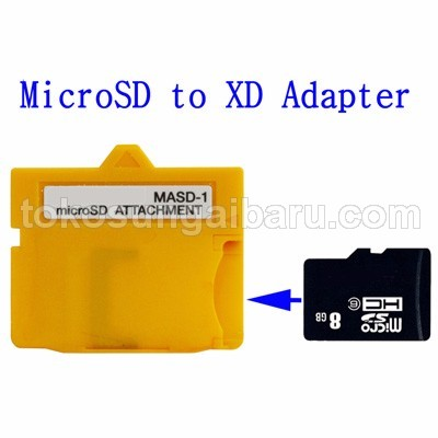 MicroSD (TF Card) Card to XD Card Adapter (MASD-1)