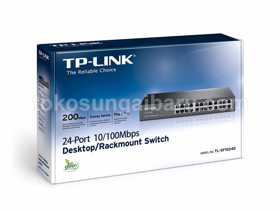 24 Port 10/100Mbps Switch TL-SF1024D