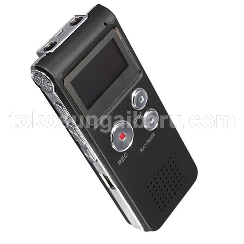 Perekam Suara Digital Voice Recorder 8GB - R29