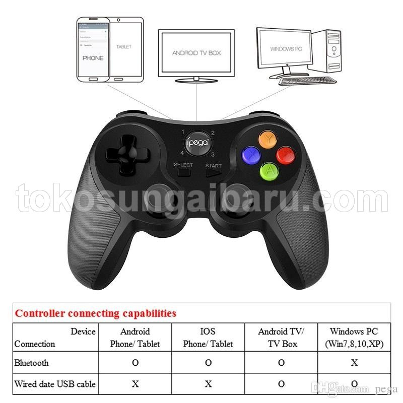 Ipega Universal Bluetooth Game Controller for Smartphone - PG-9078