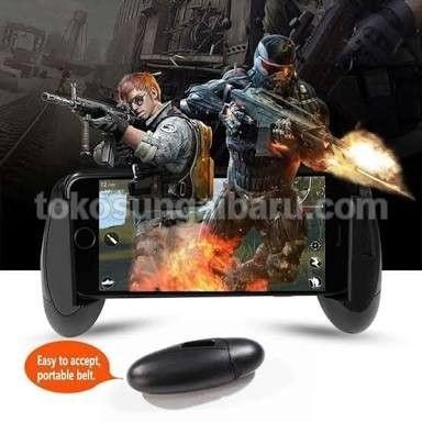 K1 Portable Game Grip Extended Handle Game Controller Gamepad for Android & iOS
