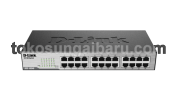 D-Link Switch Hub DES-1024C - Body Besi (24 port 10/100 Mbps)