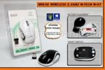 Mouse wireless Mtech tipe W87